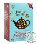 ETS 20 Bio Áfonyás & Bodzás fehér tea