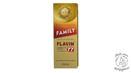 Flavin77 Family szirup (250ml)
