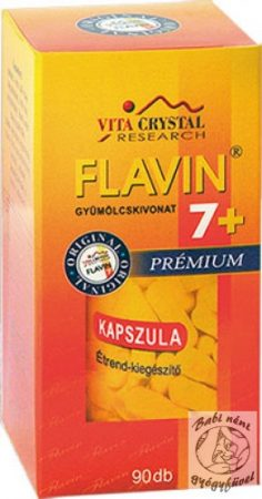 Flavin 7+ Prémium kapszula (90db-os)