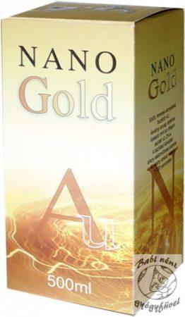Nano Gold aranykolloid (500ml-es)