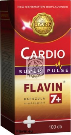 Cardio Flavin7+ Super Pulse kapszula (100db)