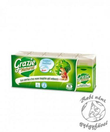 Grazie Natural Ecolabel minősítésű papírzsebkendő