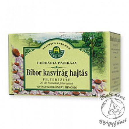 Herbária filteres Bíbor kasvirág (20db-os)