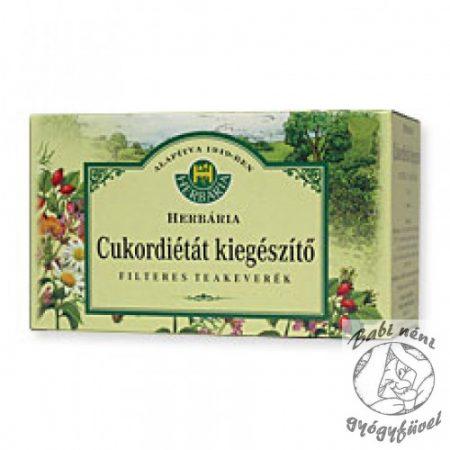 Herbária filteres Cukordiétát kiegészítő teakeverék (20db-os)