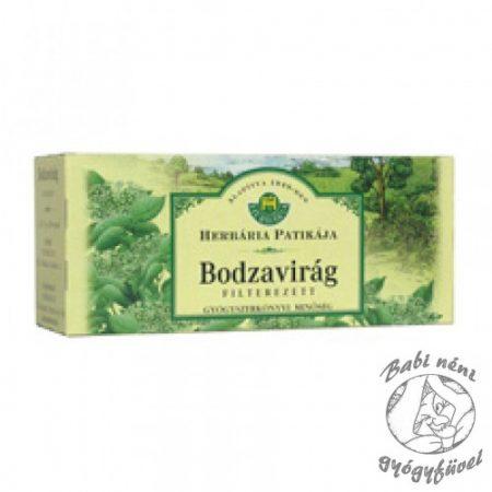 Herbária filteres Bodzavirág (25db-os)