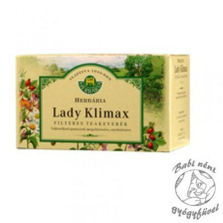 Herbária filteres Lady Klimax teakeverék (20db-os)