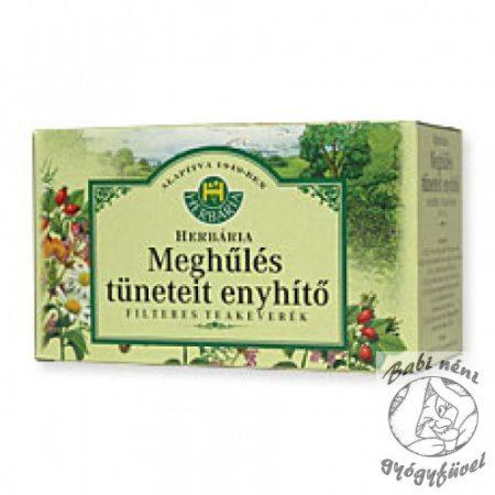 Herbária filteres Meghűlés tüneteit enyhítő teakeverék (20db-os)