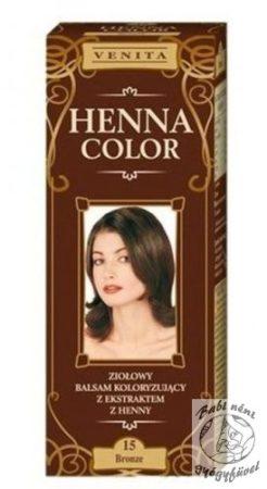 Henna Color 15 Barna Hajfesték 75ml