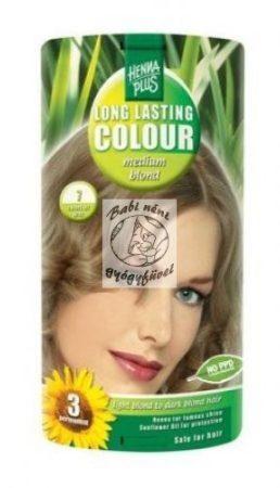 Henna Plus hajfesték 7. Középszőke