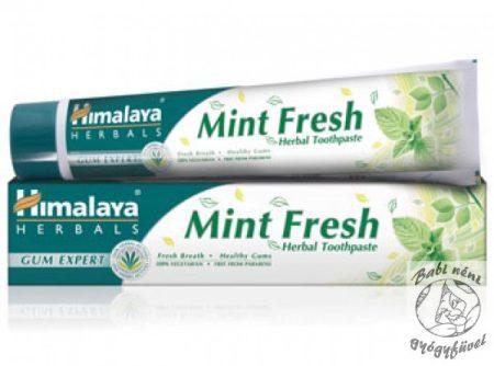 Himalaya Mint Fresh Herbal Toothpaste (75 ml) Frissítő mentás gyógynövényes fogkrém