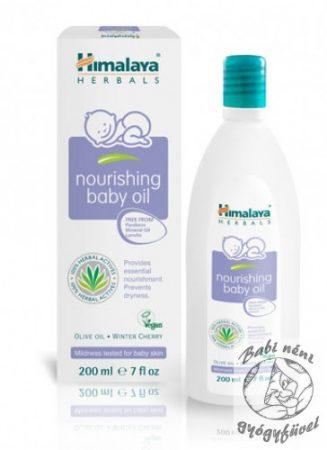 Himalaya Nourishing Baby Oil (200 ml) Tápláló babaolaj