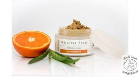 Herbline Arcpakolás érett, száraz bőrre