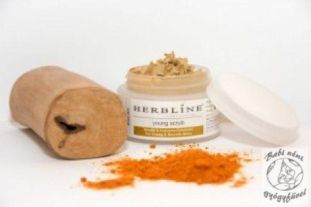 Herbline Bőrradír normál bőrre