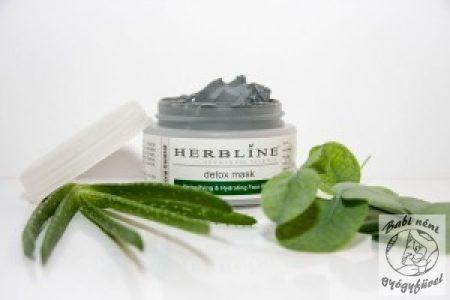 Herbline Méregtelenítő arcpakolás