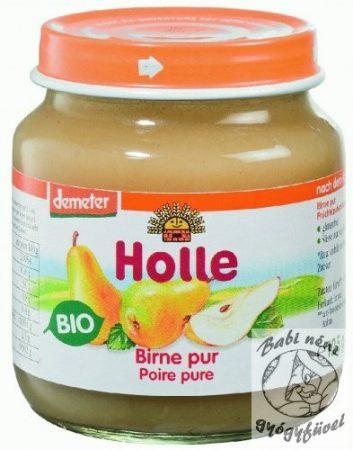 Holle Bio bébiétel körte 100% 125g