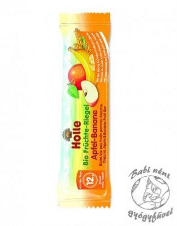 Holle Bio gyümölcsszelet alma banán 25g