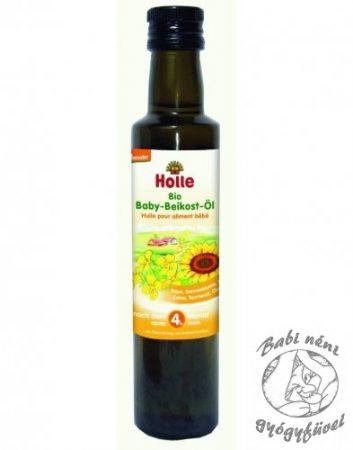 Holle Bio étkezési babaolaj 250ml