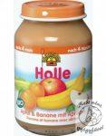 Holle Bio Bébiétel alma banán sárgabarackkal 190g