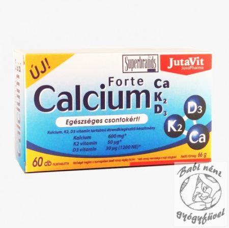 JutaVit Calcium Forte Ca / K2 / D3, 60 db
