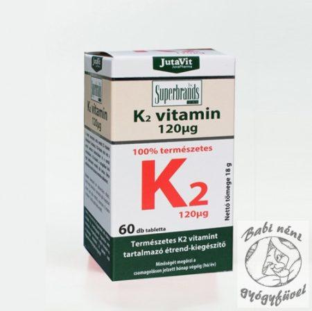 JutaVit K2 vitamin 120 μg, 60db