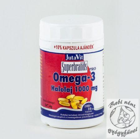 JutaVit Omega-3-pro Halolaj 1000mg 30db