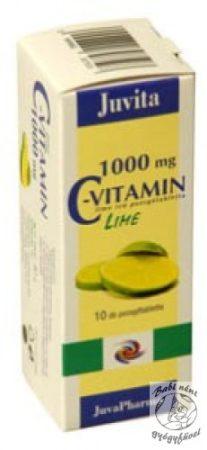 JutaVit  C-vitamin 1000mg pezsgőtabletta (20db-os)