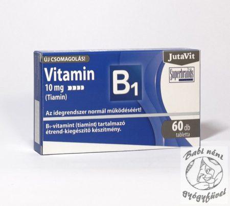 Jutavit B1 vitamin 10mg tabletta