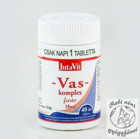 JutaVit Vas-komplex forte 18mg 40db