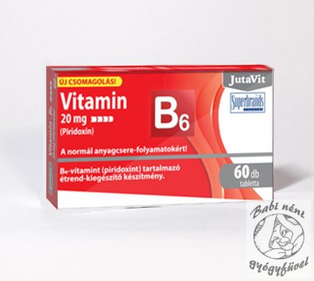 JutaVit B6 Vitamin 20mg