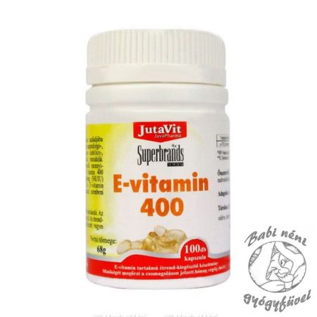 Jutavit E-vitamin 400 IU kapszula