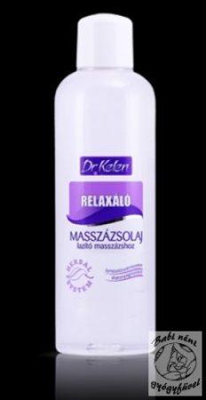 Dr. Kelen Relaxáló masszázsolaj 1000ml