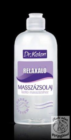 Dr. Kelen Relaxáló masszázsolaj 500ml