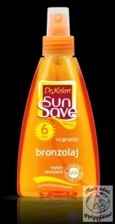 Dr. Kelen SunSave F6 Bronzolaj spray