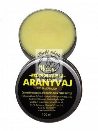 ARANYVAJ- Prémium sheavaj (hidegen sajtolt)