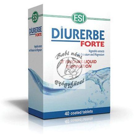 DIURERBE® forte -Természetes vízhajtó tabletta 40db
