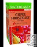 Naturland Csipke-Hibiszkusz teakeverék (20 db-os)