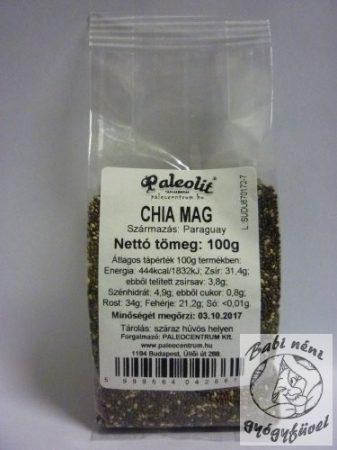 CHIA MAG FEKETE 100G PALEOLIT