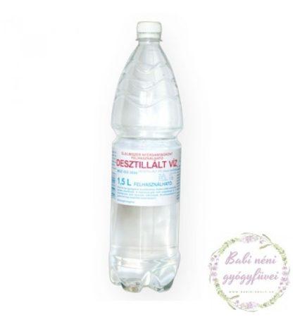Desztillált víz (1,5 L)