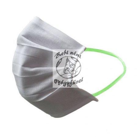 Textil szájmaszk gumipánttal | mosható, vasalható