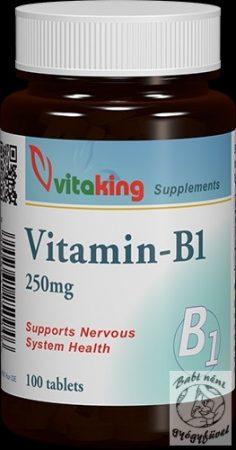 Vitaking B1-Vitamin 250mg (100)