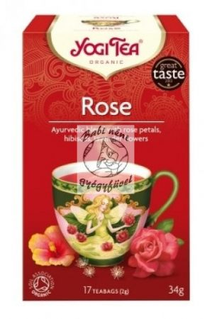 Yogi Rózsa tea