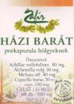 Zafír Házibarát porkapszula, 60 db -Csomagolássérült-