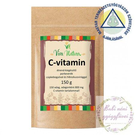 C-vitamin étrend-kiegészítő por (150g)